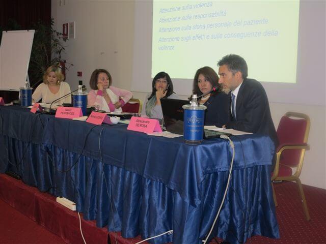 Dott.ssa Paola Pupulin, Dott.ssa Claudia Flisi, Dott.ssa Isabel Fernandez, Dott.ssa Beatriz LeComte, Dott. Alessandro De Rosa